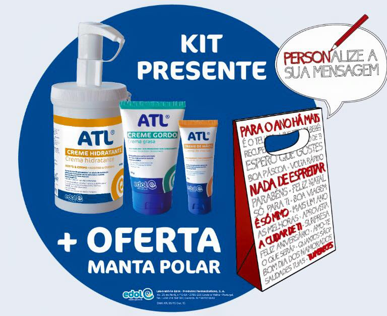 Promoção ATL = Oferta de Manta Polar!