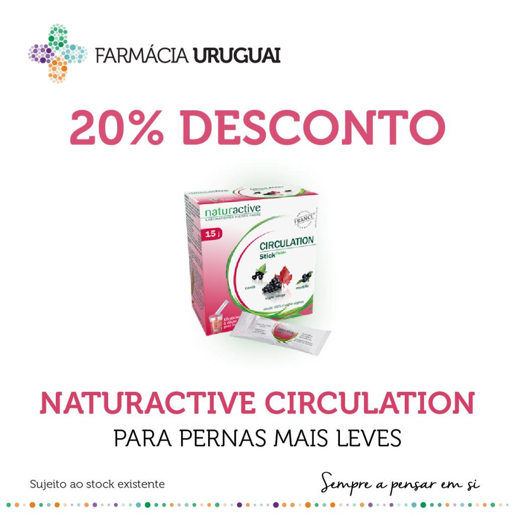 Promoção Natureactive Circulation