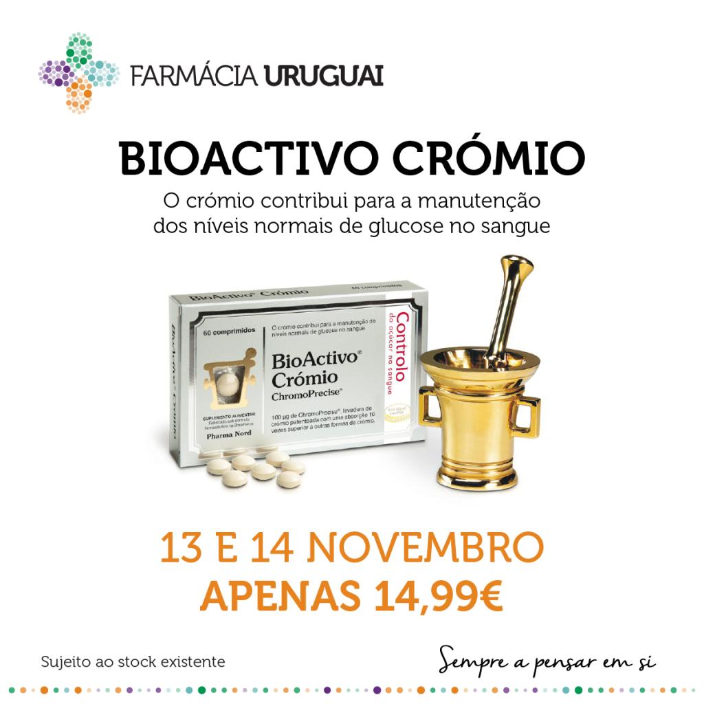 Promoção Bioactivo Crómio