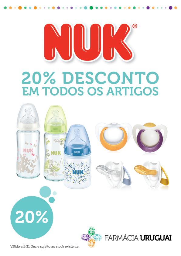 Promoção 20% NUK