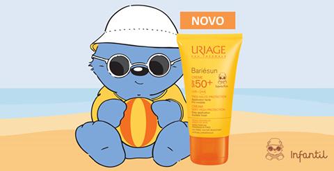 Bariésun Infantil é a proteção solar ideal para a pele sensível e frágil das crianças!