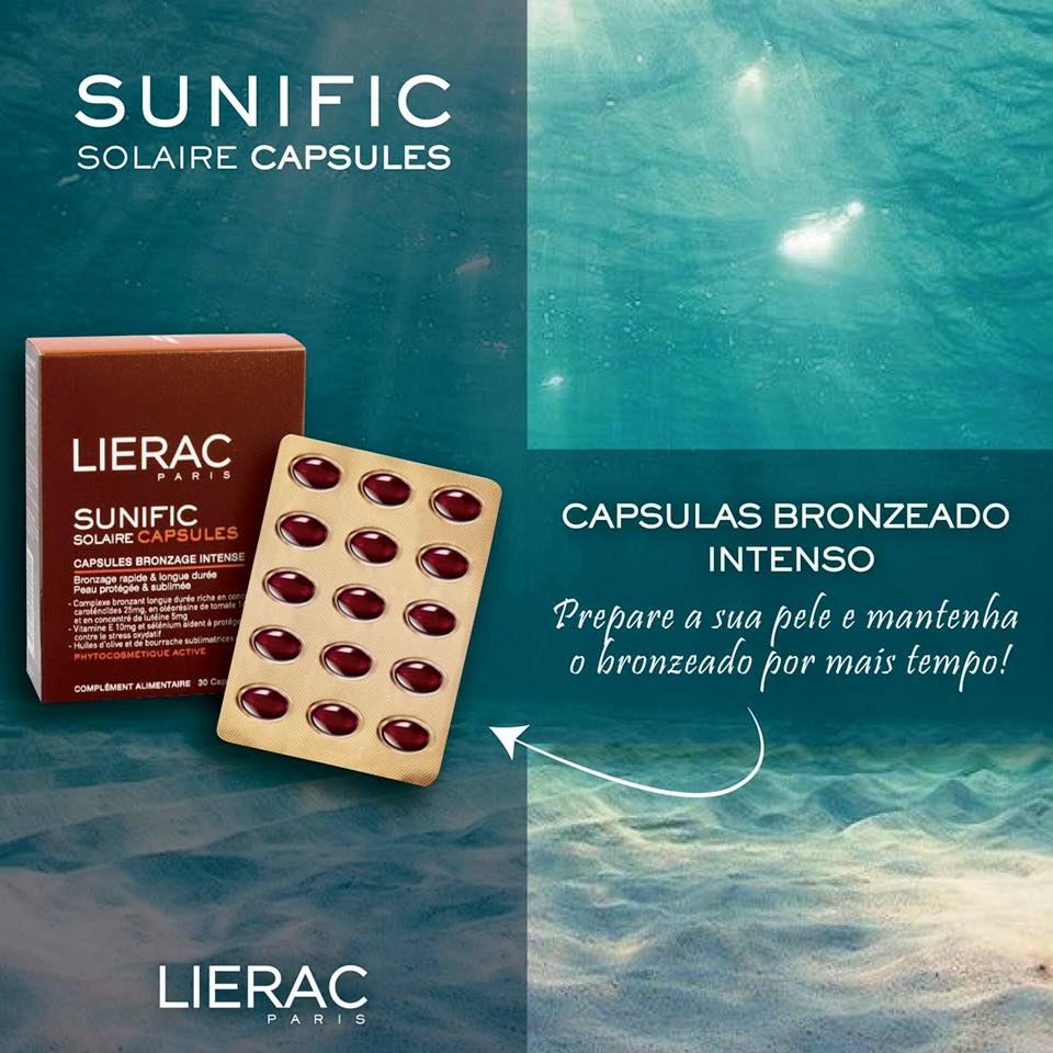 Quer prolongar o seu bronzeado? Antes de iniciar a sua época de praia experimente LIERAC SUNIFIC SOLAR!