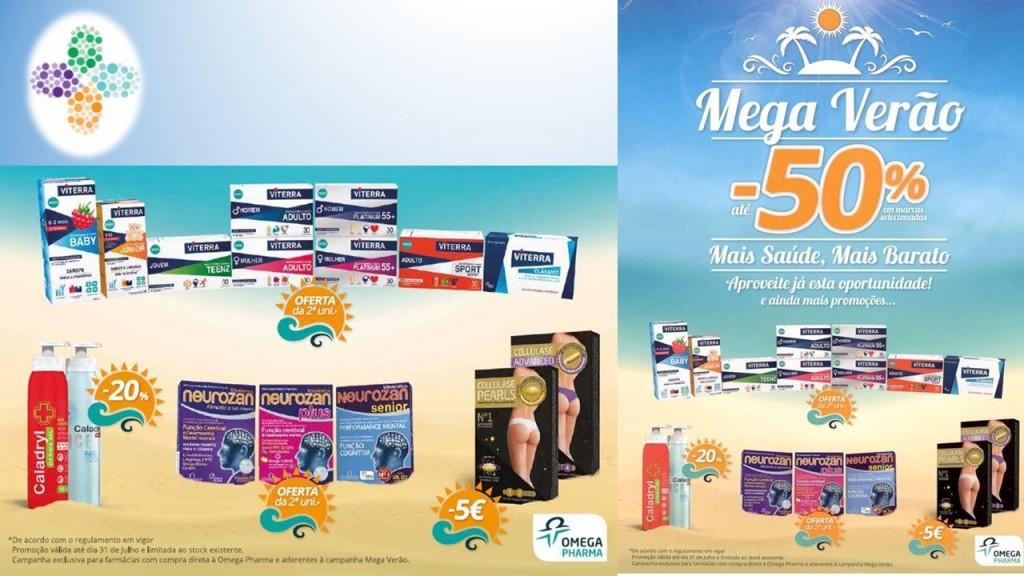 Campanha Mega Verão da Omega Pharma