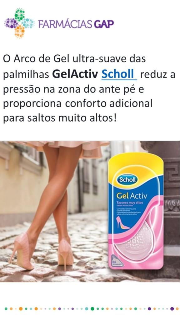 Palmilhas Gel Activ Scholl
