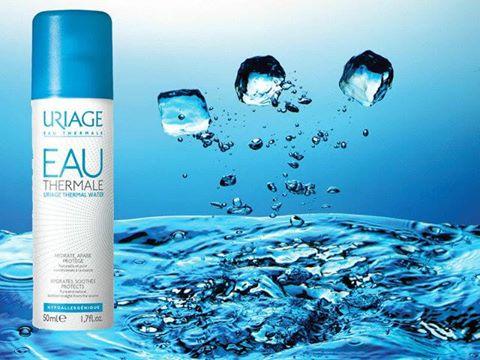 Água termal Uriage