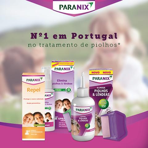 Paranix oferece-lhe uma linha completa de produtos, sem inseticidas, que elimina 100% dos piolhos* e previne a reinfestação.