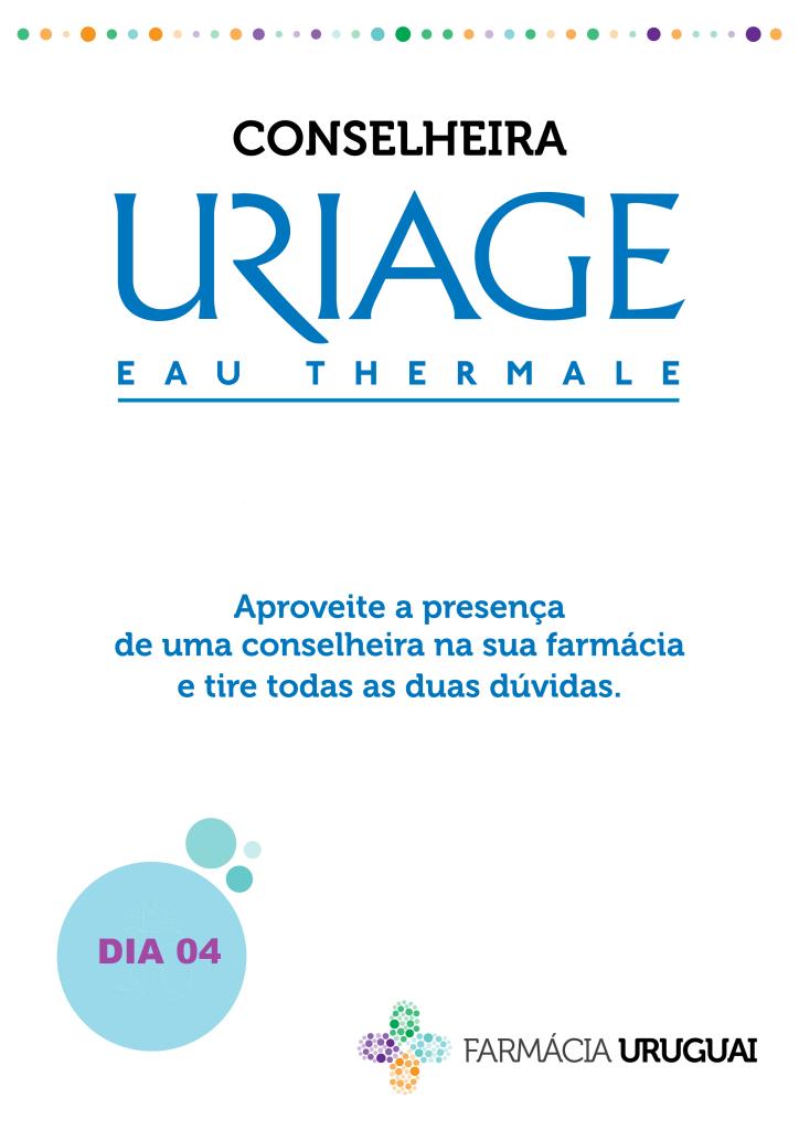 Venha ver gratuitamente como está a sua pele com a Conselheira Uriage. Aproveite também as promoções que estarão disponíveis apenas neste dia. Contacte-nos para fazer a sua marcação.