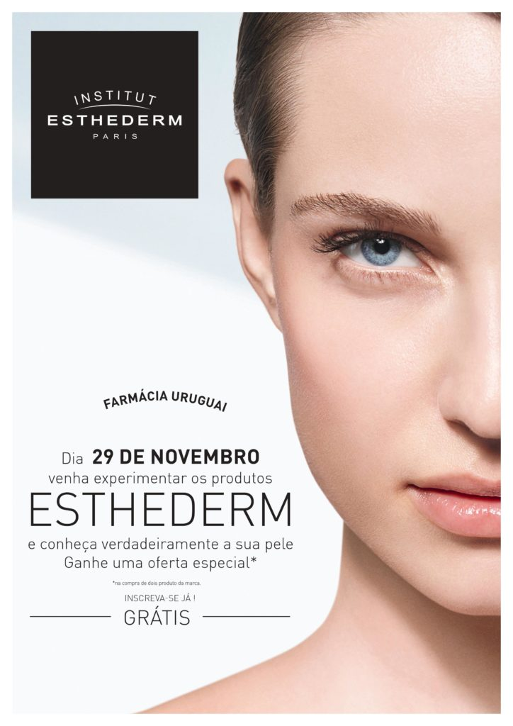 Mini-Facial da Esthederm – 29 Novembro 2016