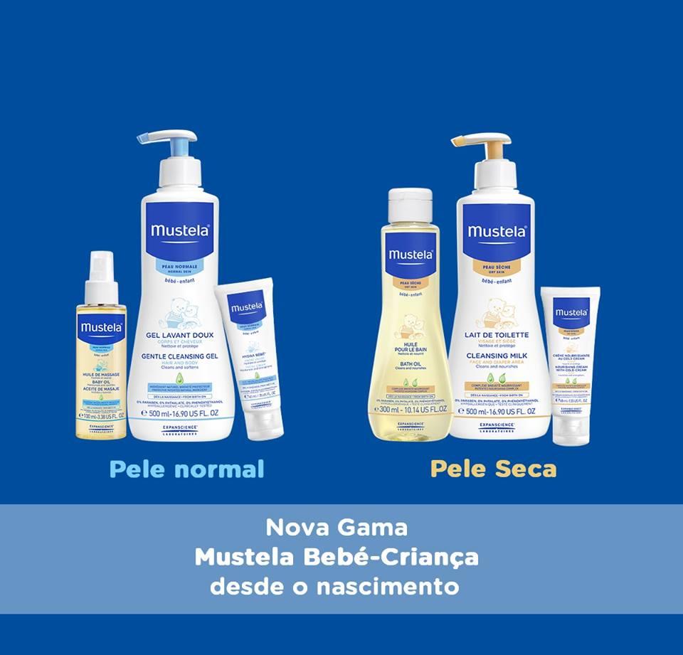 Nova Gama Mustela: para cada tipo de pele, normal ou seca, um cuidado adaptado!