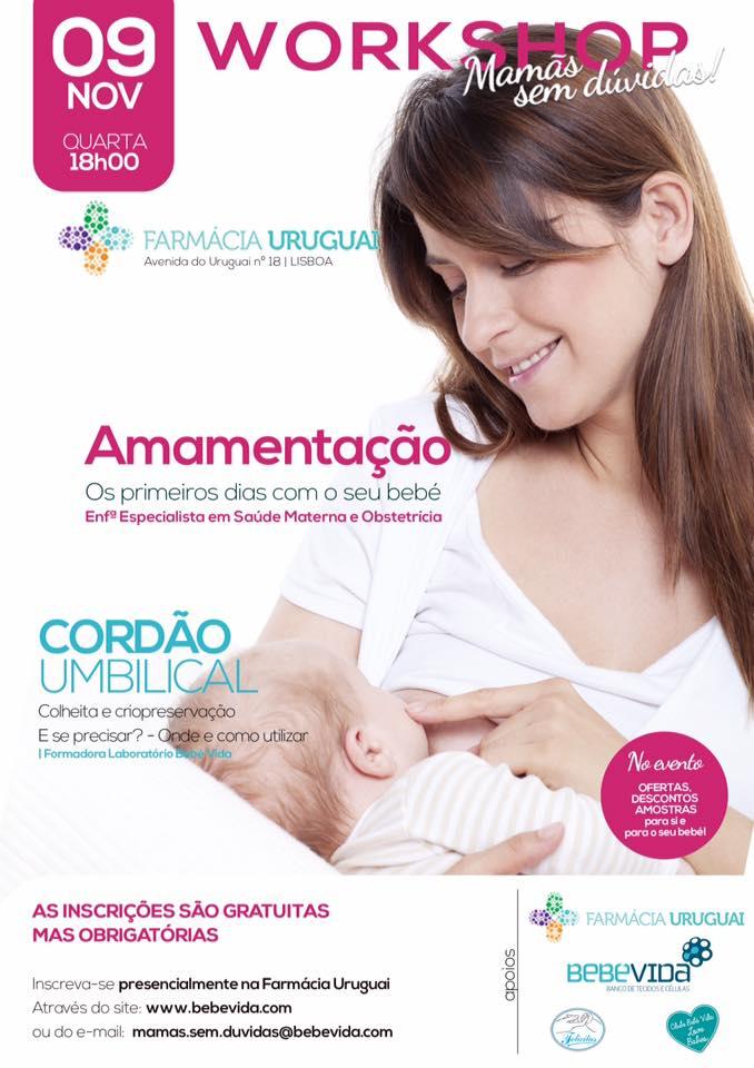 "Workshop "" Mamãs sem Dúvidas"""