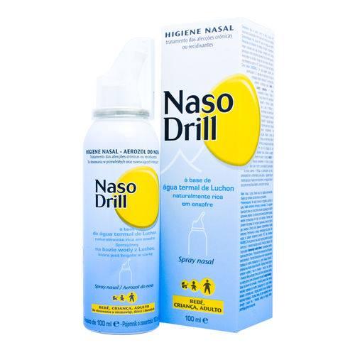 Nasodrill, à base de Água Termal de Luchon naturalmente rica em enxofre ajuda a fluidificar e eliminar as secreções nasais. Ideal para a lavagem nasal, rinites e rinofaringites.