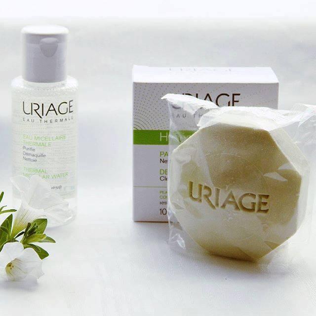 Uriage Hyséac pain dermatológico, elimina as impurezas e o excesso de sebo.  Limpa, purifica e acalma a sua pele.