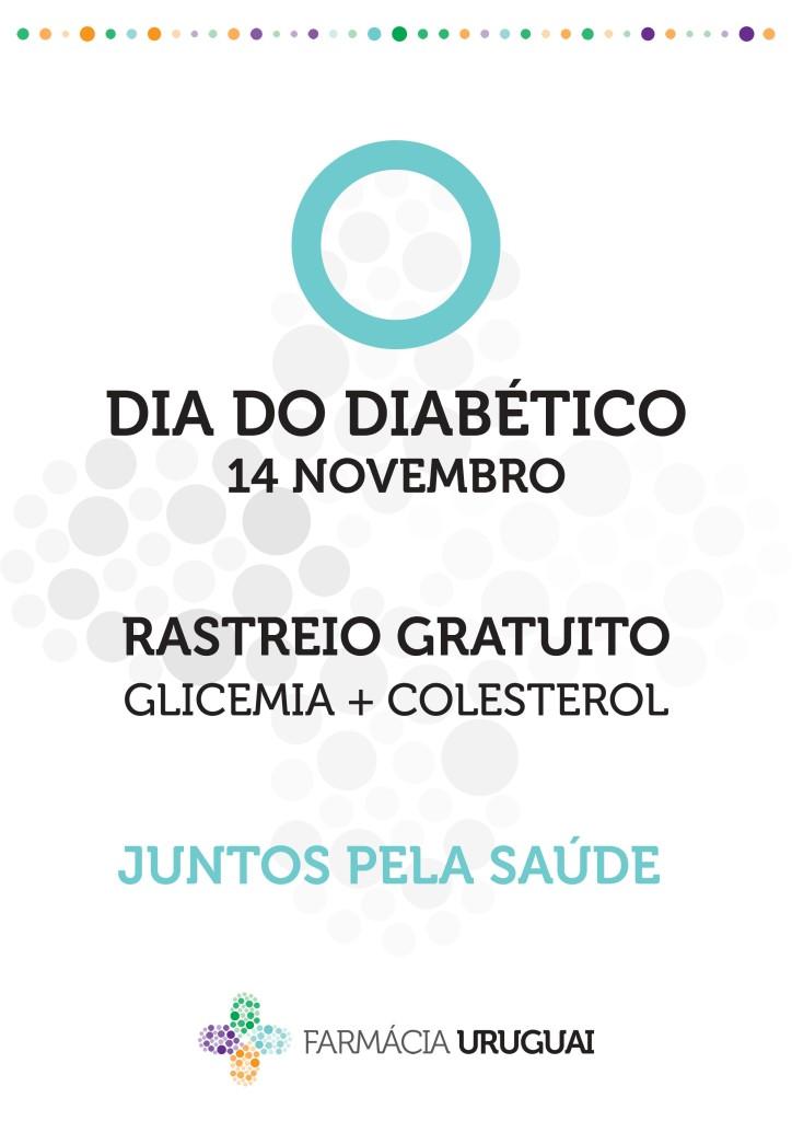 Dia 14 de Novembro venha medir a sua glicémia (nível de açúcar no sangue) e colesterol gratuitamente. Conheça ainda os alimentos e suplementos que o vão ajudar a equilibrar a glicémia, reduzindo assim o apetite por açúcares e controlando a Diabetes / diminuindo a probabilidade do seu aparecimento.