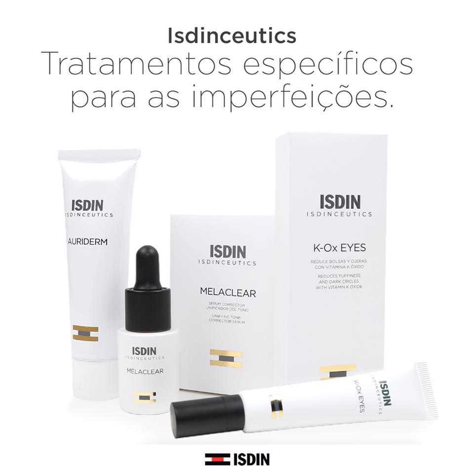 Manchas, papos e olheiras...? ISDINCEUTICS apresenta uma gama de produtos específicos para tratamento de imperfeições da pele!