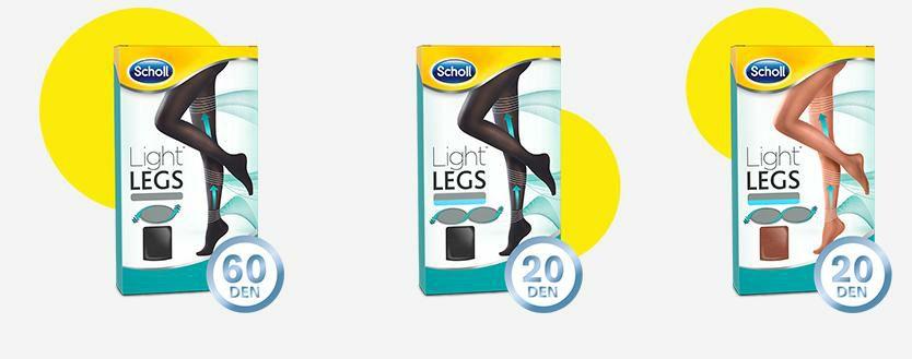 Collants de compressão Scholl Light Legs
