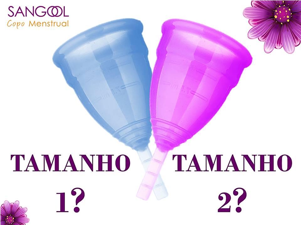 Copo Menstrual Sangool