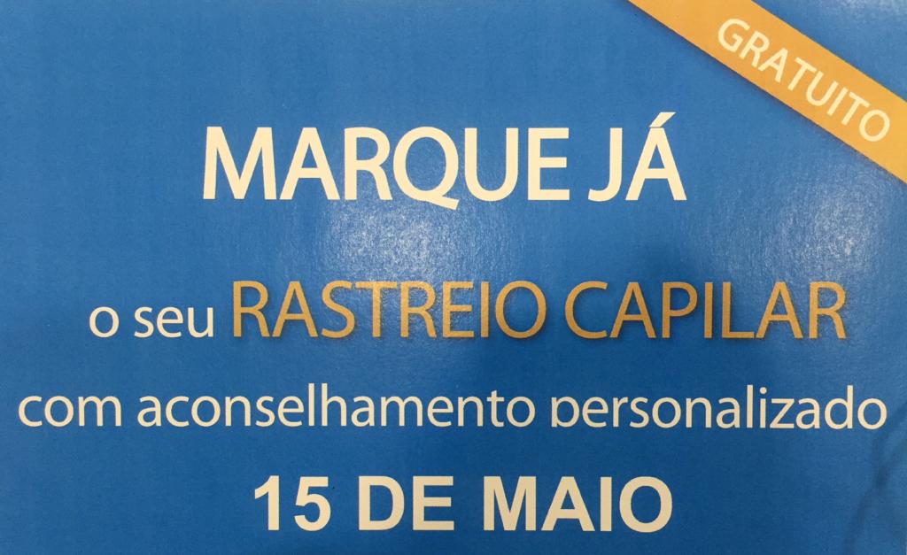 Rastreio Capilar Nourkrin – 15 Maio 2017