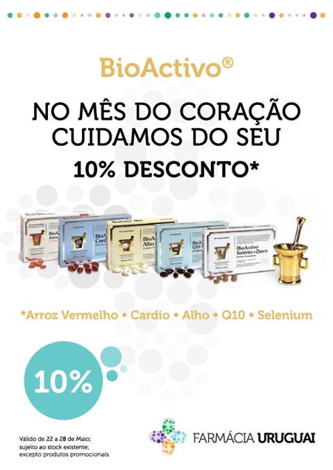 Bioactivo 10% Desconto