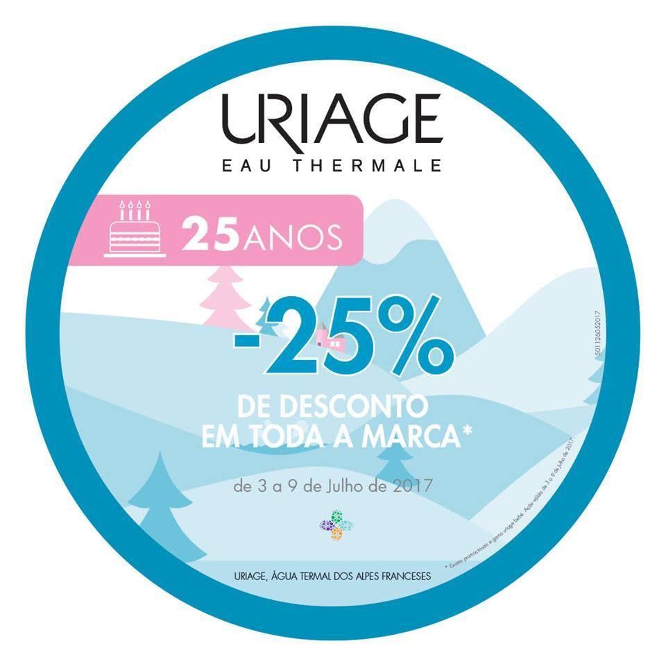 Uriage – 25% desconto