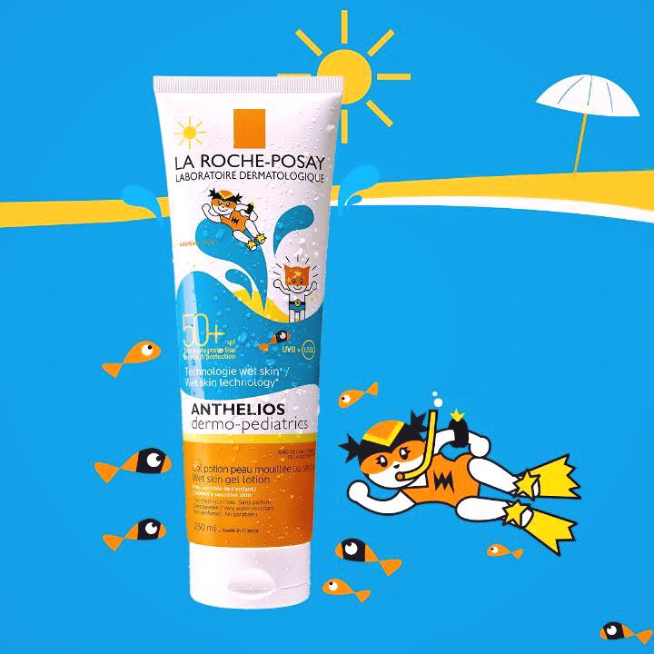 Anthelios Wet Skin Dermopediátrico