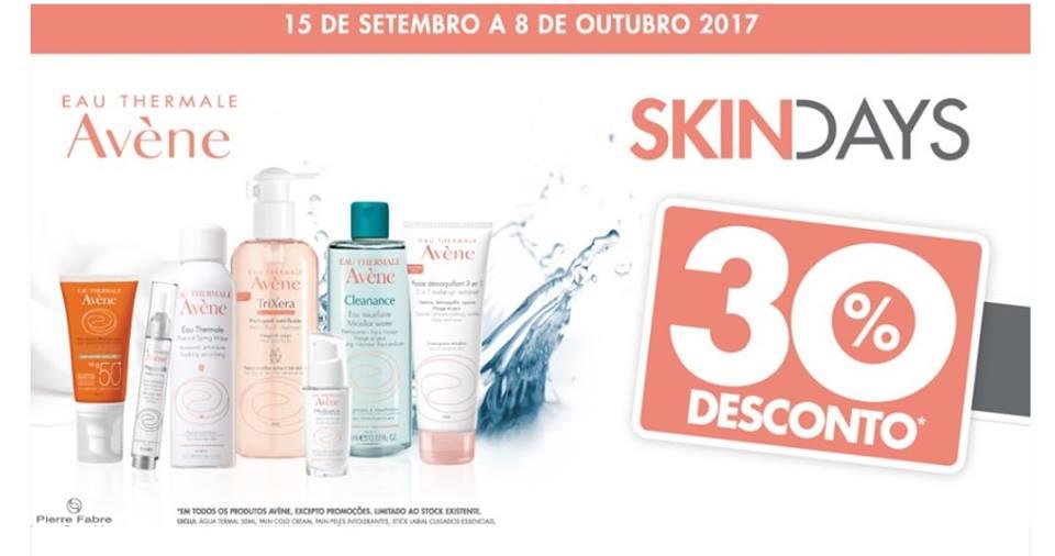 SKIN DAYS -30% DESCONTO NOS SEUS PRODUTOS EAU THERMALE AVÈNE