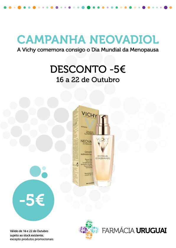 Vichy Gama Neovadiol – desconto imediato de 5€