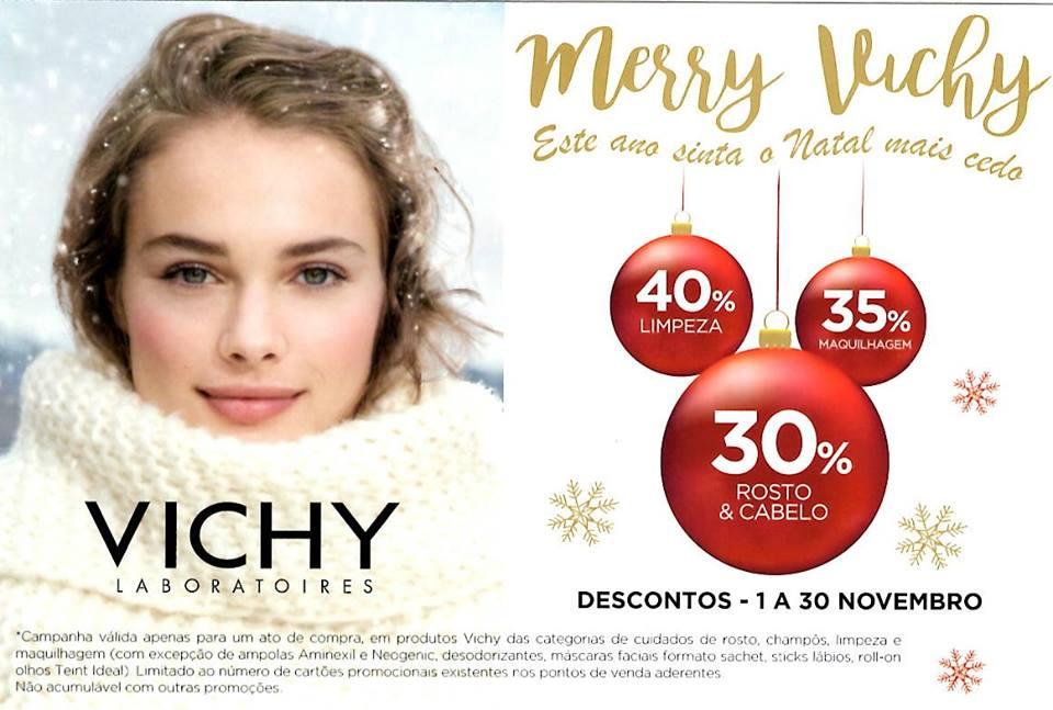 Merry Vichy – Este ano sinta o Natal mais cedo