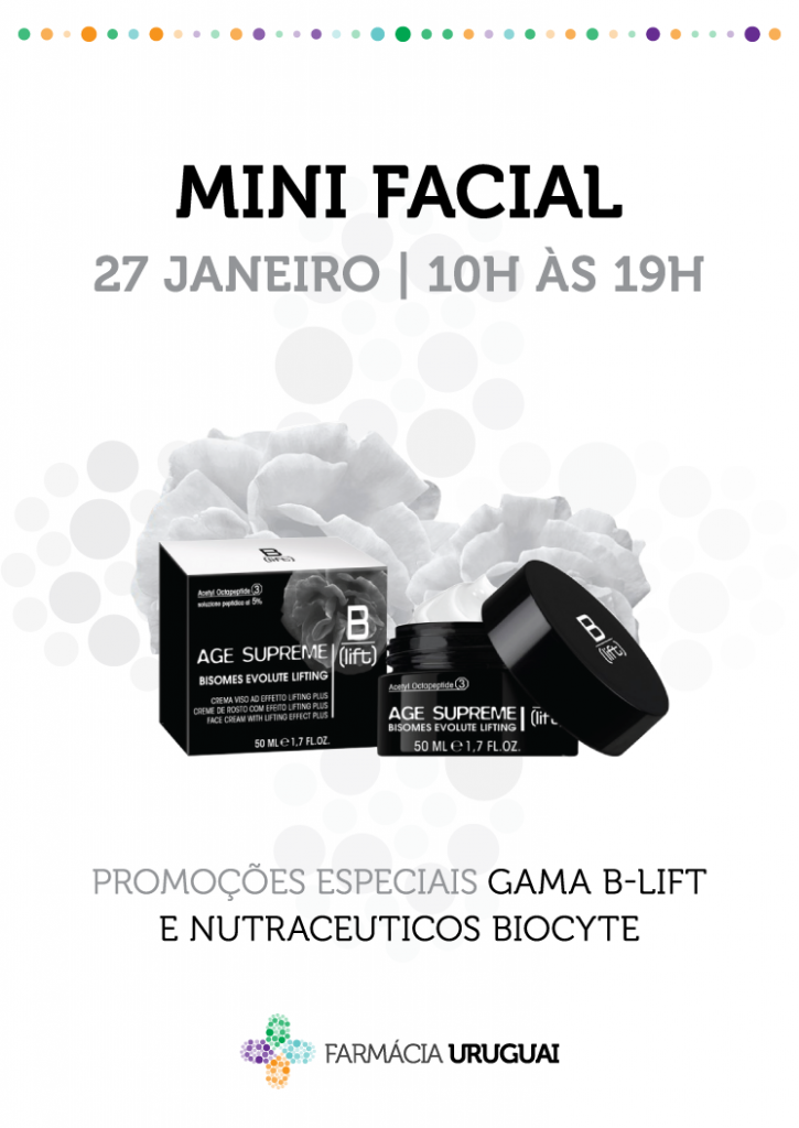 Mini facial – B Lift