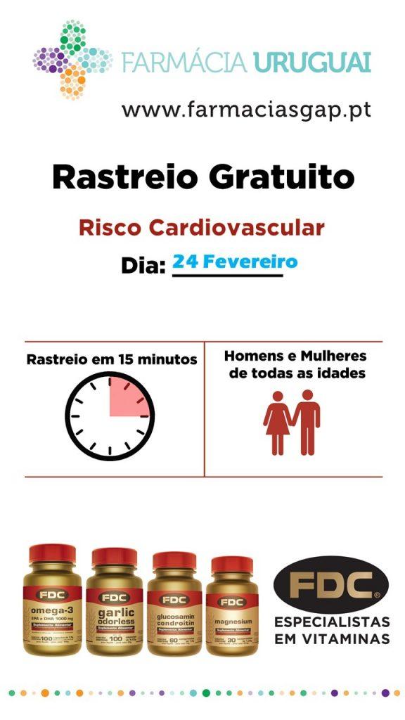 FDC – Rastreio Cardiovascular