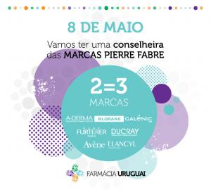 Campanha 2=3 Pierre Fabre