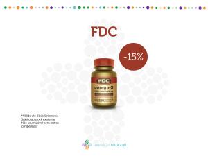FDC – 15% Desconto