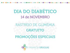 Dia do Diabético – 14 de Novembro
