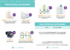 Promoções Novembro Farmácia São Mamede