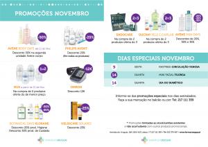 Promoções Novembro Farmácia Uruguai