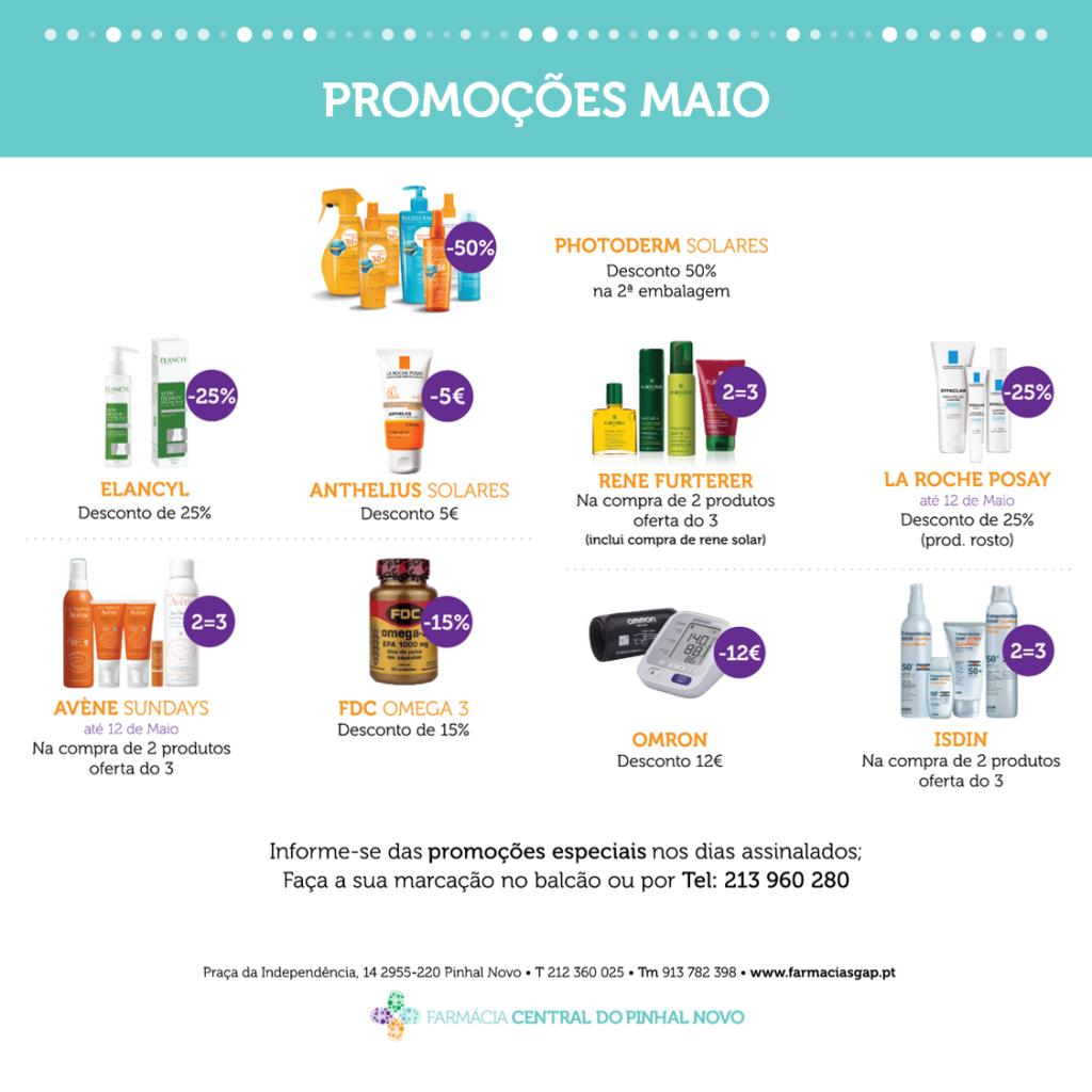 Promoções Maio – F. C. Pinhal Novo