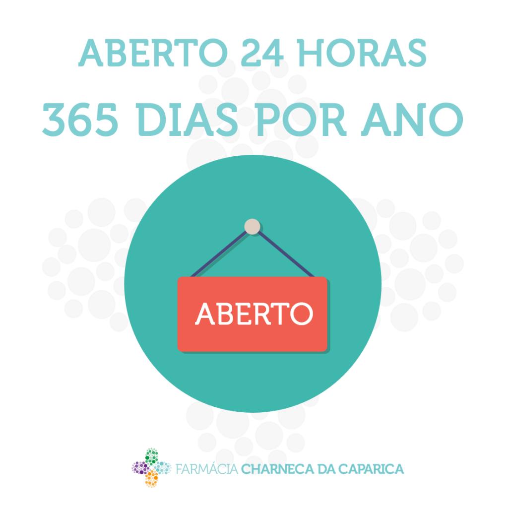 ABERTO 24 HORAS