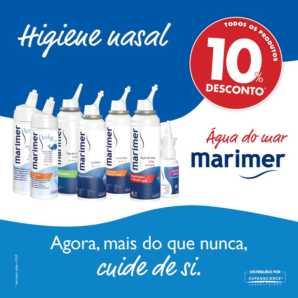 Água do mar Marimer