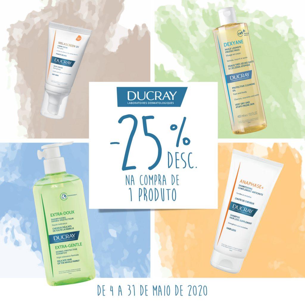 Campanha Ducray 25% de desconto