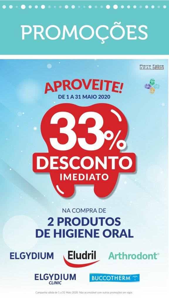 Elgydium, Eludril, Arthrodont, ElgydiumClinic, Buccotherm – 33% DESCONTO