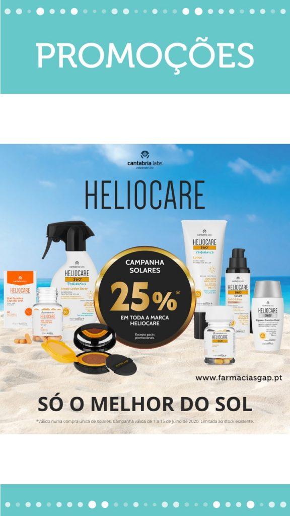 Heliocare – 25% desconto