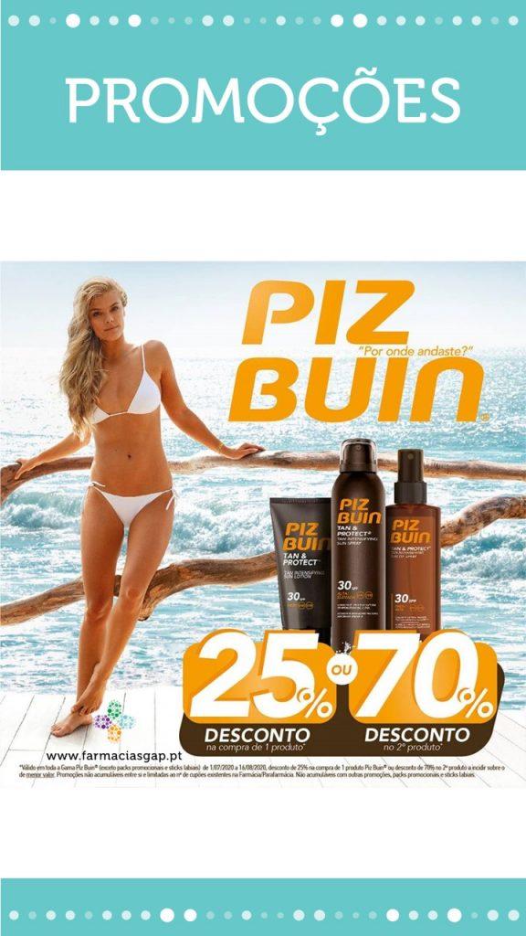 Promoção Piz Buin