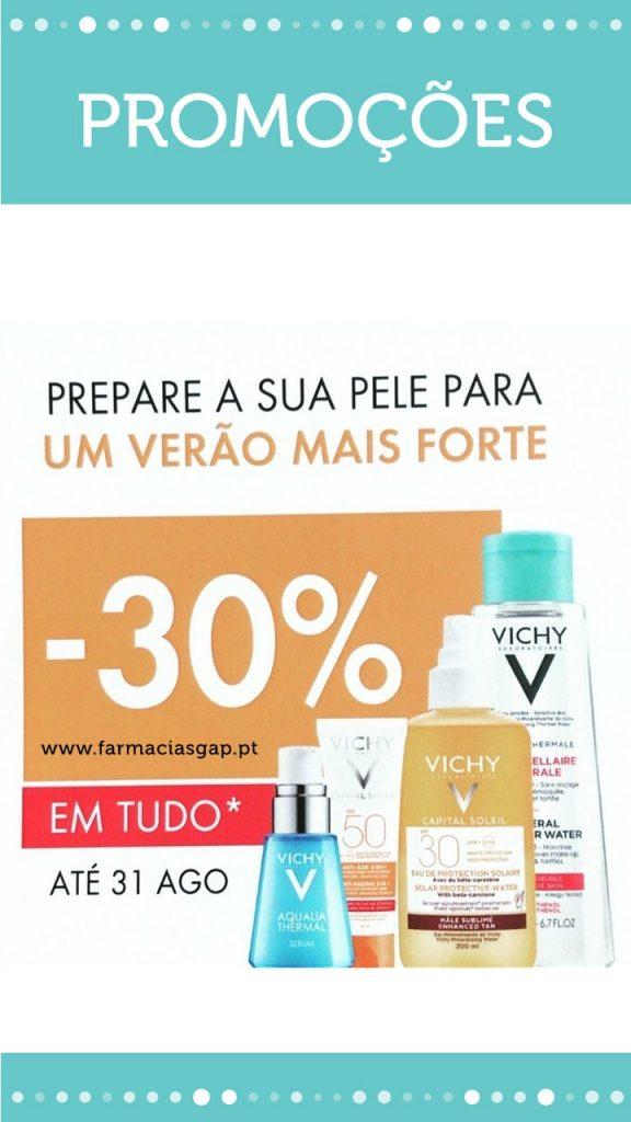30% Desconto Vichy