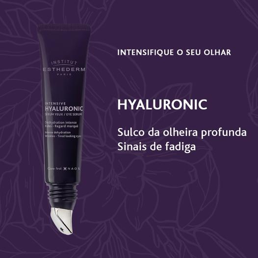 ESTHEDERM INTENSIVE HYALURONIC SÉRUM CONTORNO DE OLHOS